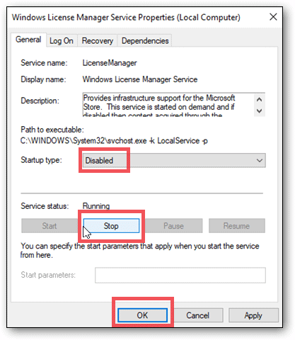 disable windows license manager when your windows license will expire soon