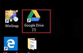 google drive sign on desktop