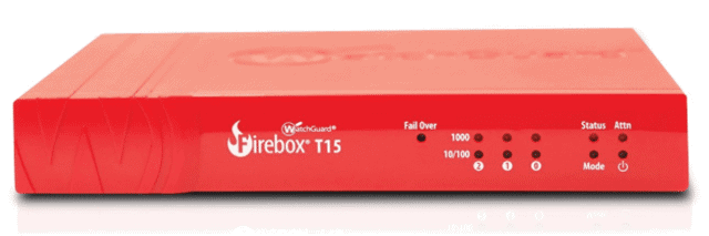 WatchGuard Firebox T15 network firewall security
