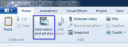 How to rotate a video using vlc or windows movie maker adding videos to wmm ccuart Images