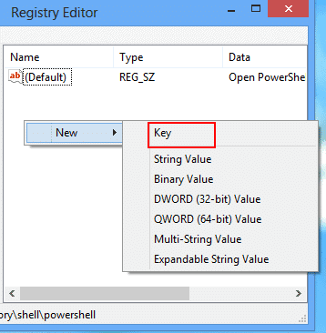 create-new-key-registry-editor