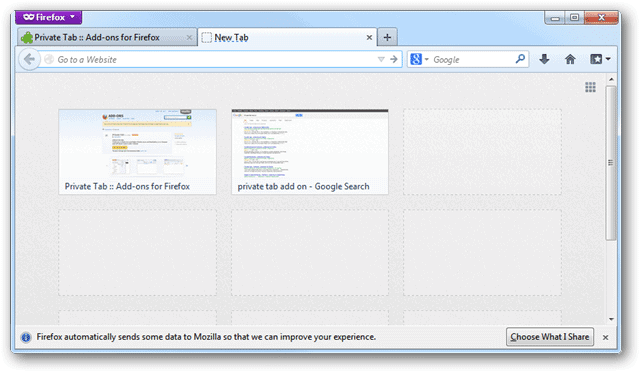 how to close a tab with keyboard firefox