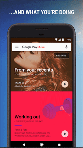 Google-music-app-interface