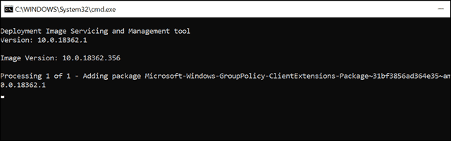 command prompt group policy management console