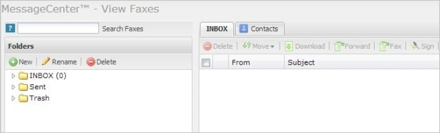 viewing-the-efax-inbox