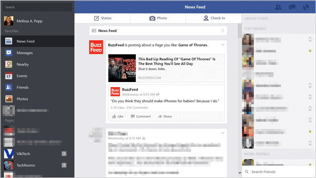 Official Facebook App Comes to Windows 8 1