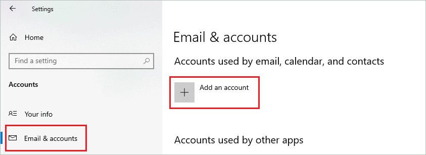 Add OneDrive account to fix onedrive not syncing