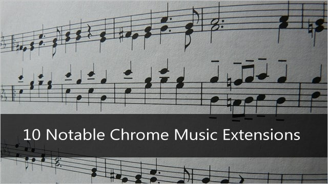 Best-Chrome-Music-Extensions