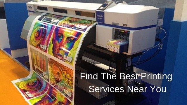 Looking for Printing Services Near Me? Locate Best One With
