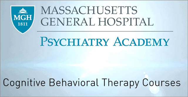 CBT certification from MGH