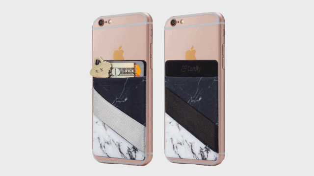 Cardly-Two -Finger-Strap-cell-phone-stick-on-wallet
