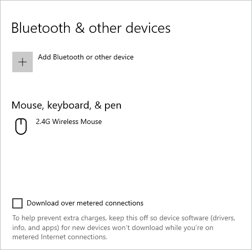 Check if bluetooth is available