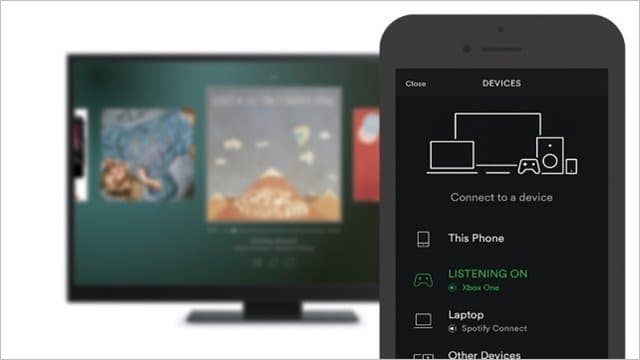 Controlling Spotify on Xbox One via mobile phone