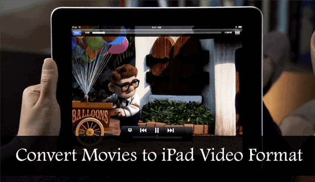 how to convert movies to play on an ipad