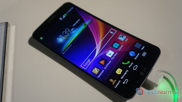 Hands-on With LG G Flex: The Android Smartphone With a