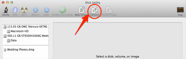 How To Create DMG Files In Mac OS X