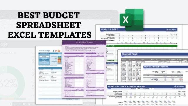Best Excel Budget Template from www.technorms.com