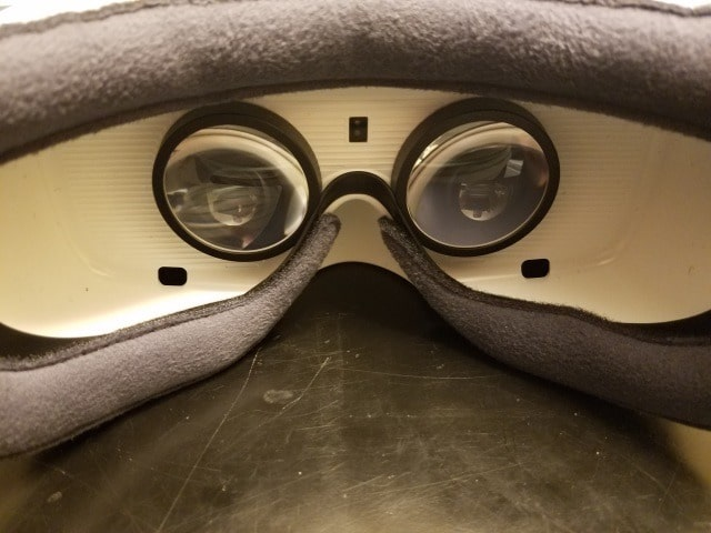 Gear VR interior lenses