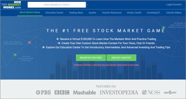 HowTheMarketWorks stock market game apps