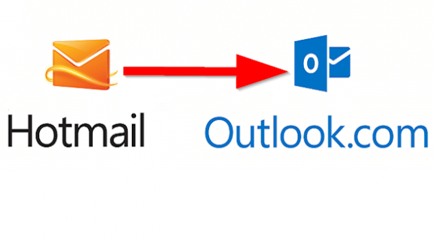 Transfer from Hotmail to Outlook