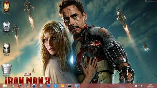 Iron Man 3 Wallpaper 04