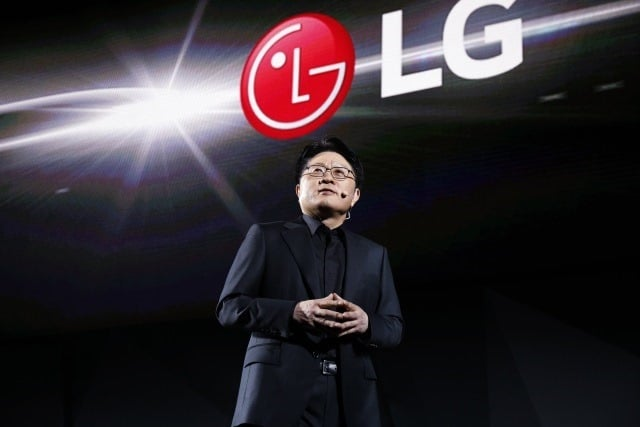 LG press conference CES 2017