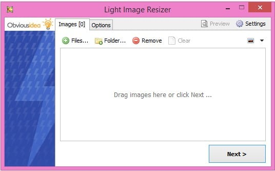 light-image-resizer-add-files
