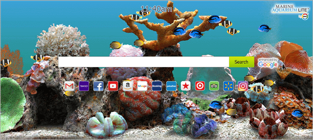 Marine Aquarium scrensaver for windows