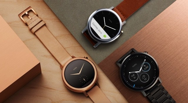 Moto 360 Top Android Smartwatch