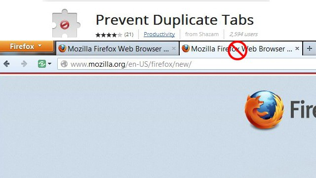 How to Prevent Duplicate Tabs in Chrome or Firefox