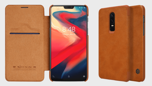 Nillkin Qin Series Leather OnePlus 6 Case