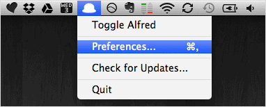 Open-Alfred-preferences