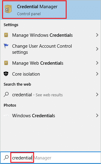 Open Credential Manager