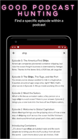RadioPublic Best Android Podcast App