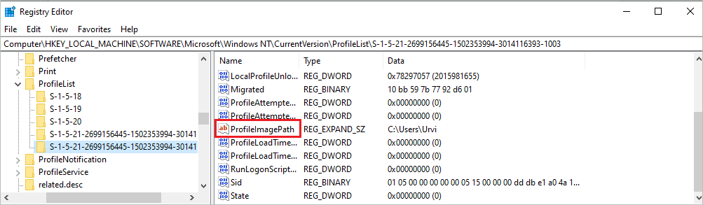 Registry Editor 4 to fix can't login to windows 10
