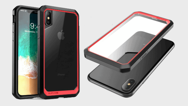 SUPCASE-iPhone-X-iPhone-XS-Case-Unicorn-Beetle-Series-Premium-Hybrid-Protective-Frost-Clear-Case