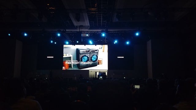 Samsung FlexWash and FlexDry reveal