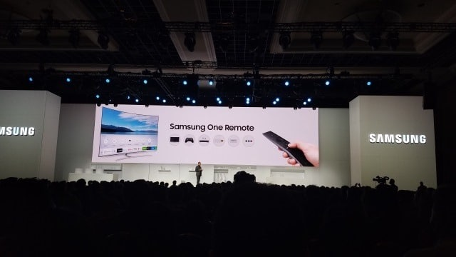 Samsung One Remote from CES