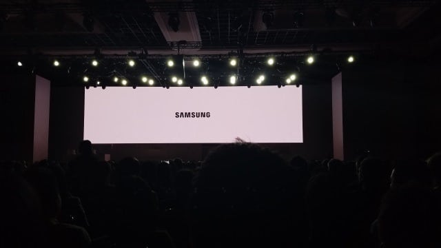 Samsung press conference at CES 2017