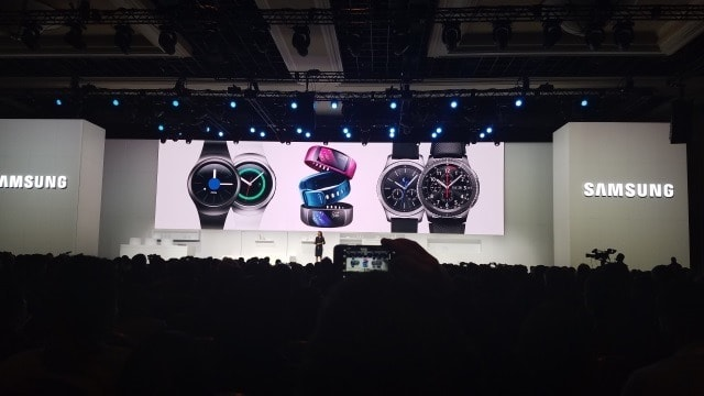 Samsung smartwaches and Gear watches