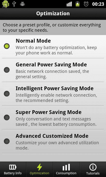 Android-Easy-Battery-Saver-App