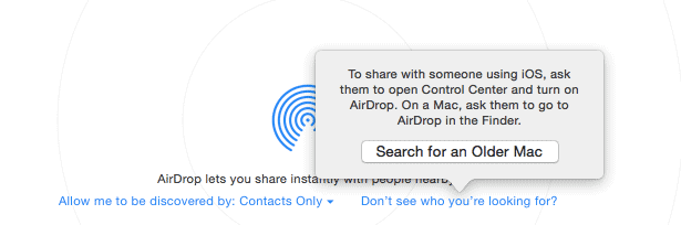Apple-Airdrop-Options