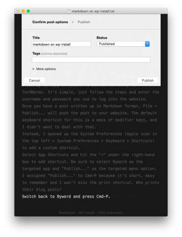 byword-publishing-screen-minimalistic