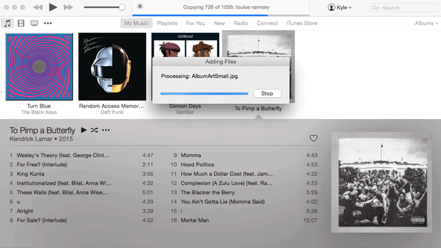 how to download music to your itunes library
