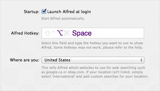Set-the-Alfred-hotkey-under-preferences