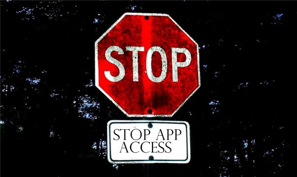 Stop-Apps-Access