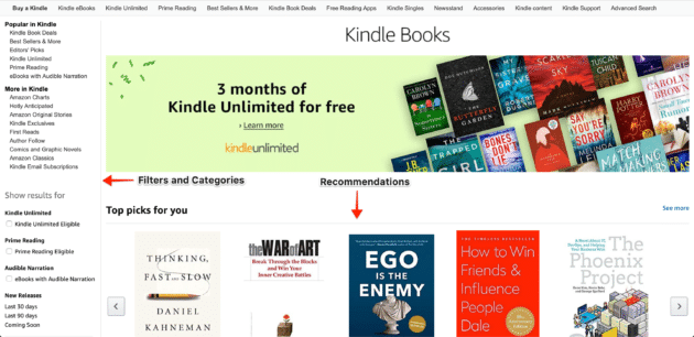 kindle-store-interface