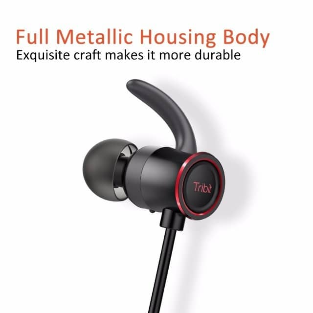 Tribit XFree Color Bluetooth Headphones design
