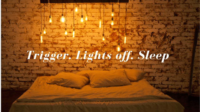 Alexa IFTTT recipe for lights out at bedtime