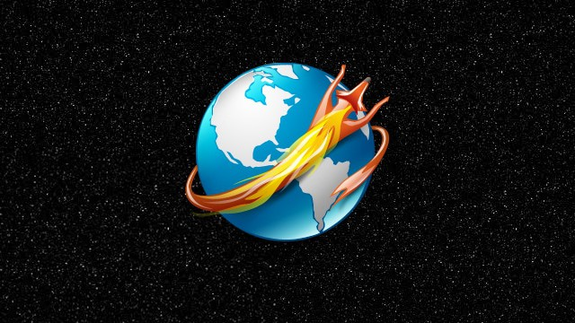 the-firefox-logo-running-around-the-earth-in-space